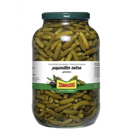 Gherkins anchovy flavor...