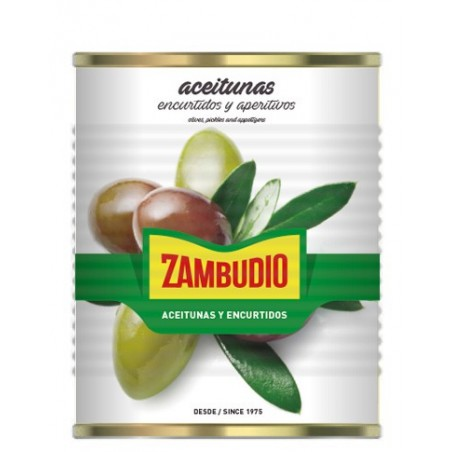 Pitted Manzanilla Tin 10 Kg