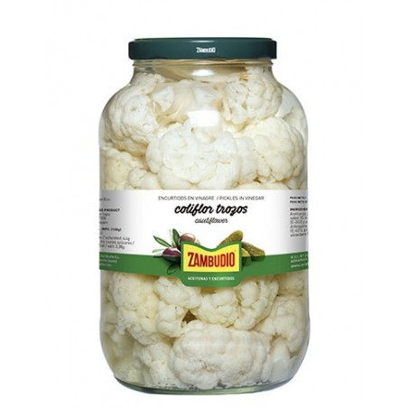 Cauliflower Gallon Jars