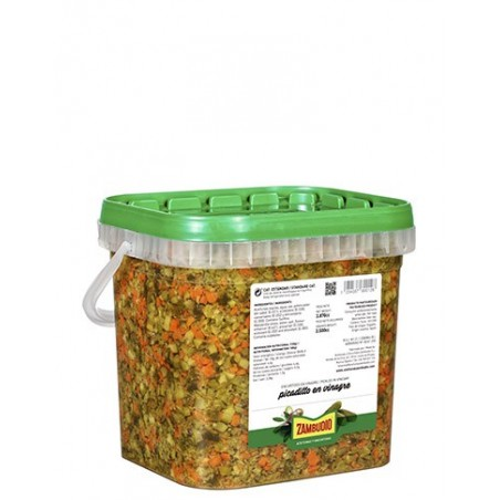 Chopped pickle Bucket 3.700 cc