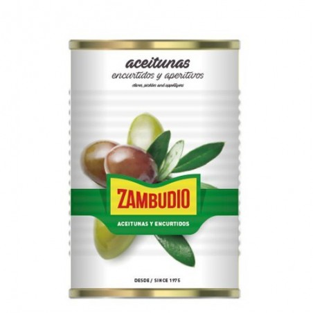 Pitted Manzanilla Tin 5 Kg